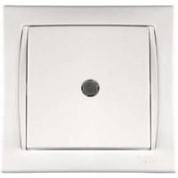 Camilya Выключатель с подсветкой 1кл. (кремовый)