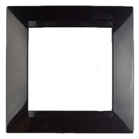 Рамка 1 местная (черный) Simon 15 (уп/60шт) 1500610-032
