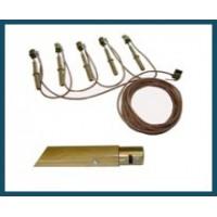 Заземление переносное для ВЛ ЗП-1-18, 1кВ, 3 фазы, диаметр 18мм, 5штанг с зажимами в кошельке