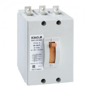 Автоматический выключатель ВА 21-29-340010-12IH-380 5А У3(уп/1) КЭАЗ