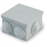 Распаячная коробка с втулками 70х70х40мм IP44 (уп/120шт) T.Plast