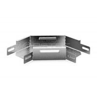 Угловой соединитель плоский к лотку 50х50 УСП-50х50 OSTEC