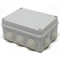 Коробка о/п 10вводов 200х140х75мм IP55 Тусо