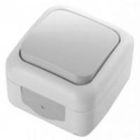 Выключатель 1-кл. О/П IP54 серый VIKO Palmiye (уп/5/10/100шт)