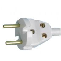 Вилка универсальная плоская белая (АБС пластик) В6-004 Витебск