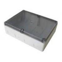 Распаячная коробка, 12 гермовводов, прозрачная крышка 210х280х90 IP54 (уп/24шт)
