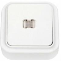 Выключатель О/П 1-кл с подсветкой Пралеска А110-214 (уп/90шт)