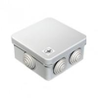 Коробка уравнивания потенциалов (КУП) 40-0210-У для открытой установки 80х80х40 (105шт/кор) Промрука