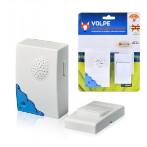 Звонок беспроводной UDB-Q022 W-R1T1-16S-30M-WH ТМ Volpe 16 мелодий.