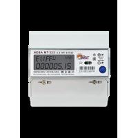 Счетчик НЕВА МТ 323 0.5 AR E4S25 3ф 5-10А м/т на DIN-рейку ЖКИ (уп/30шт)