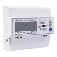 Счетчик НЕВА МТ 323 1.0 AR E4S 3ф 5-60А м/т на DIN-рейку ЖКИ (уп/30шт)