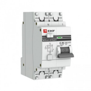 Дифференциальный автомат АД-32 1P+N 25А/30мА 4,5кА EKF PROxima