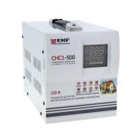 Стабилизатор напряжения СНС1-1500ВА симисторный EKF Simple