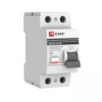 Устройство защитного отключения УЗО 2P 16А/10мА (электромеханическое) EKF