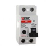 Устройство защитного отключения УЗО 2P 25А/30мА (электромеханическое) EKF