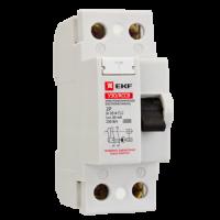 Устройство защитного отключения УЗО 2P 63А/300мА (электромеханическое) Basic EKF