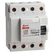 Устройство защитного отключения УЗО 4P 100А/300мА (электромеханическое) EKF