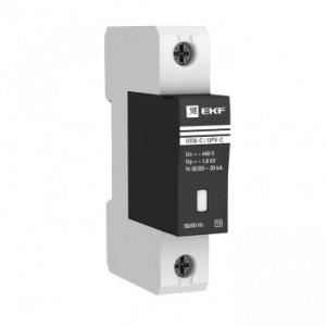 Ограничитель импульсных напряжений серии ОПВ-D/1P In 5кА 230В (с сигнализацией) EKF
