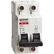 Выключатель нагрузки 2P 25А ВН-63 EKF PROxima