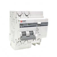Дифференциальный автомат АД-2 50А/30мА (хар. C, AC, электронный, защита 270В) 4,5кА EKF PROxima