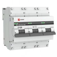 Автоматический выключатель ВА 47-100, 3P 10А (D) 10kA EKF