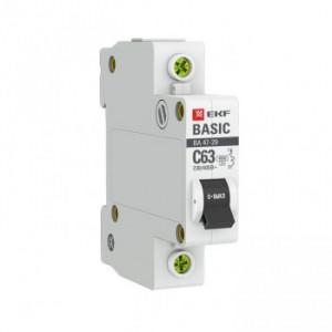 Автоматический выключатель ВА 47-29 1Р 32А (С) 4,5кА EKF
