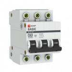 Автоматический выключатель ВА 47-29 3Р 25А (С) 4,5кА EKF