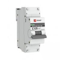 Автоматический выключатель ВА 47-100, 1P 10А (C) 10kA PROxima EKF