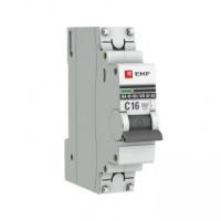 Автоматический выключатель ВА 47-63 1Р 16А (С) 6кА EKF PROxima