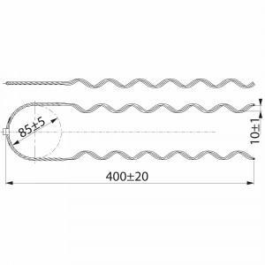 SO115.5073 cпиральная вязка (комплект - 6 шт) (уп/25 комплектов)