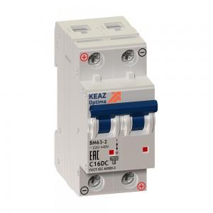 Автоматический выключатель ВМ63-2C25-DC-УХЛ3