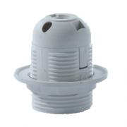 Патрон Е27 пластиковый-люстровый-IP20-КЭАЗ (уп120шт)