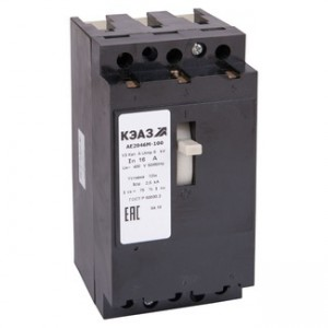 Автоматический выключатель АЕ 2046М-100 20А 12In 400В (Курск)(уп/4)
