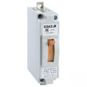 Автоматический выключатель ВА 21-/М/-29-120010-1,5IH-П/Т 5А У3 М ОТК КЭАЗ
