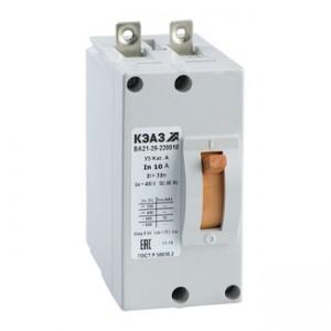 Автоматический выключатель ВА 21-29-240010-12IH-380 6,3А У3(уп/1) КЭАЗ