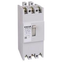 Автоматический выключатель АЕ 2056М1-100 125А 10In 380В(Курск)(уп/4)