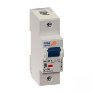 Автоматический выключатель ВМ125-1C80-8ln-15кА УХЛ3