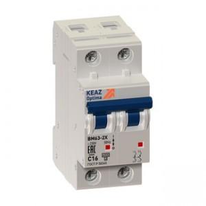 Автоматический выключатель BM63-2B2-УХЛ3 (ВМ63)