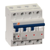 Автоматический выключатель ВМ63-4NC4-УХЛ3(Курск)