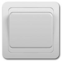 Выключатель 1кл с/у 10А 250В белый Classic 2021 POWERMAN (уп/10/200шт)