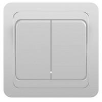 Выключатель 2кл с/у 10А 250В белый Classic 2023 POWERMAN (уп/10/200шт)