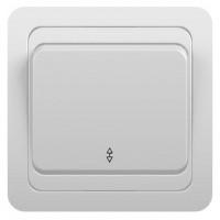 Переключатель 1кл 3пол с/у 10А 250В белый Classic 2025 POWERMAN (уп/10/200шт)