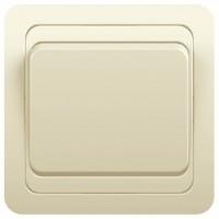 Выключатель 1кл с/у 10А 250В крем Classic 2021 POWERMAN (уп/10/200шт)