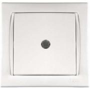 Camilya Выключатель с подсветкой 1кл. (белый)