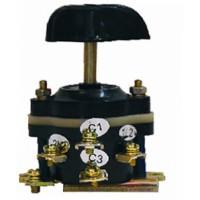 Пакетный переключатель ПП 3х16/Н2 М3 исп.3 IP00(открытый корпус,Iн16А при220В,Iн10А при380В)