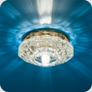 Светильник Bohemia 220 4 73 желтое стекло (G9) (СКИДКА 50 %)