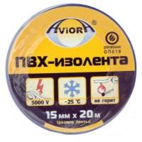 Изолента ПВХ Aviora синяя (15ммх20м)