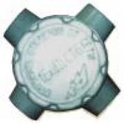 Коробка взрывозащищенная крестовая алюминиевая ККА-25 1ExdllCT6 IP54