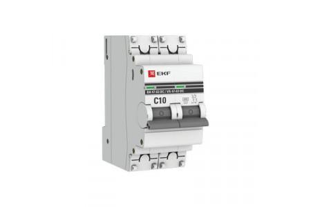 Новые автоматические выключатели для постоянного тока