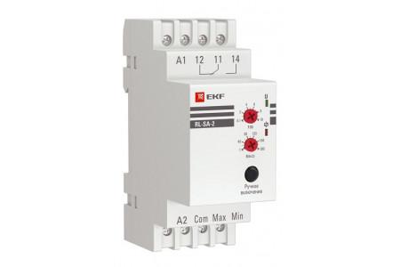 Реле RL-SA-2 – контроль уровня жидкости сразу в двух ёмкостях